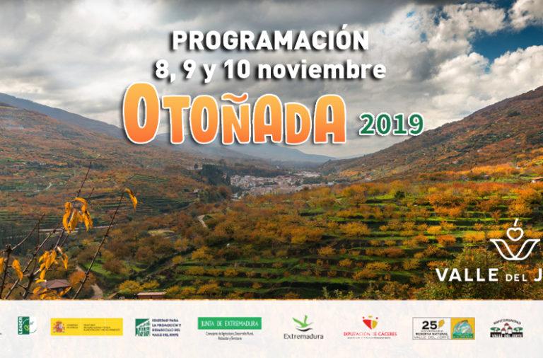 8, 9 y 10 de noviembre en el Valle del Jerte