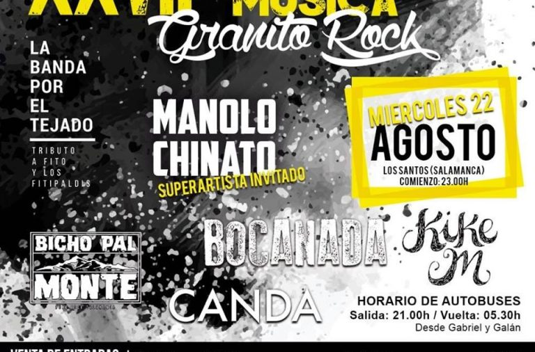 XXVII edición del festival Granito Rock
