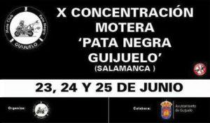 Moto Club Pata Negra de Guijuelo. Concentración Motera Pata Negra Guijuelo
