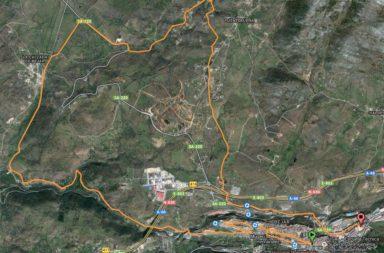 Mapa Recorrido Media Maraton