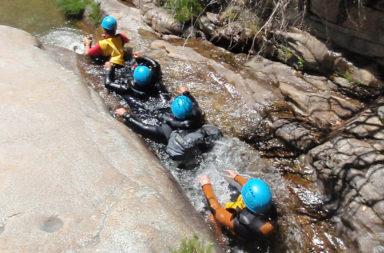 Barranquismo en el Valle del Jerte los días 5, 6 y 7 de mayo
