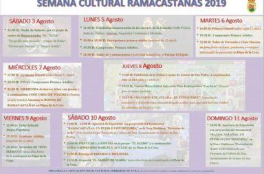 Semana Cultural Ramacastañas 2019