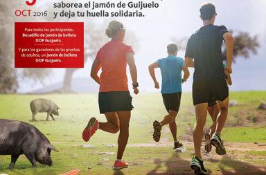 1,2,3 a correr, Carrera Solidaria del Jamón con el Banco Santander