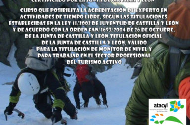 CURSO Certificado por Junta CyL 'Guía Experto en Actividades Invernales'