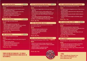 Restaurantes y Menús en las XII Jornadas Gastronómicas de la Cereza Picota (1 de junio - 23 de julio en el Valle del Jerte)