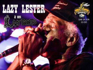El cantante y armonicista de swamp blues Lazy Lester & His Lazy Boots estará en La Alquitara el 24 de junio