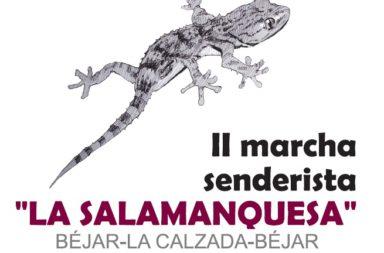 II Edición de la marcha senderista LA SALAMANQUESA el 26 de marzo ¡Inscríbete aquí!