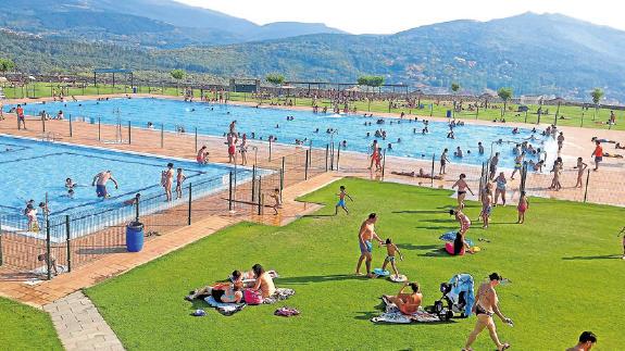 horarios piscinas municipales en b jar sierra de francia