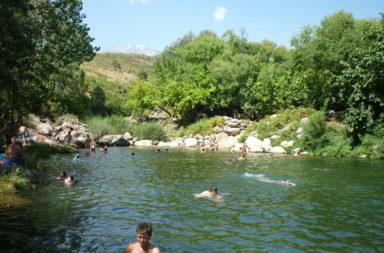 Piscinas naturales y zonas de baño en Gredos