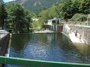 zonas de ba o y piscinas naturales en gredos norte