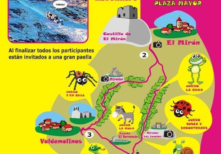 Primera y única ruta homologada infantil: La Ruta de Los Esbaruzaderos (SCL-AV61)