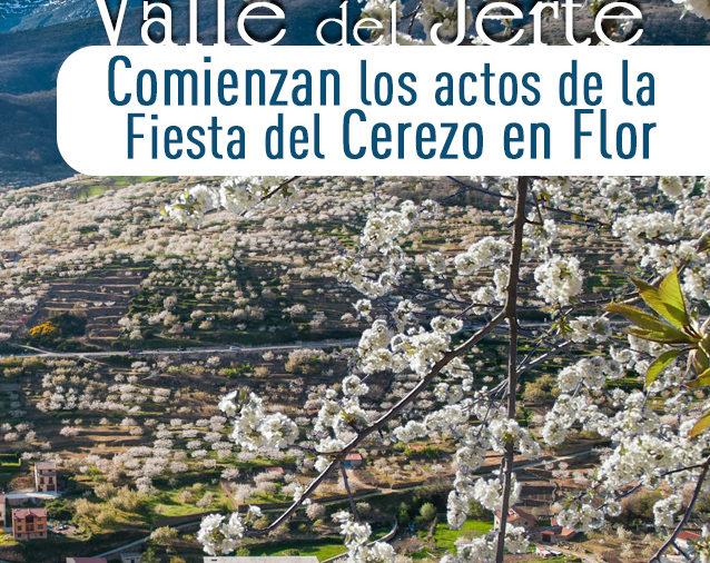 ¡Inicio de la Primavera y Cerezo en Flor 2017 en el Valle del Jerte! En Cabezuela del Valle el 31 de marzo