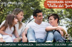 Programa familiar de verano en el Valle del Jerte